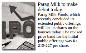 News of Pride of Cows Milk